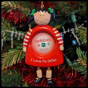 """I love my sister"" Ornament"
